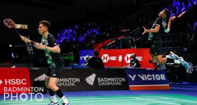 Unggulan 1 hingga 3 Rontok, Fajar Alfian Rian Ardianto Bidik Gelar Juara Denmark Open 2021