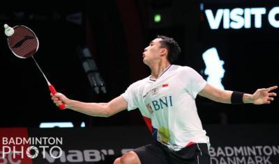 Lawan Kento Momota di Denmark Open 2021, Jonatan Christie Tak Takut
