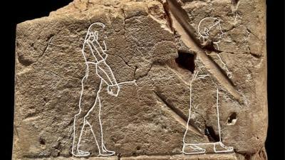 Horor! Gambar Hantu Tertua di Dunia Terlukis pada Kepingan Tanah Berusia 3.500 Tahun
