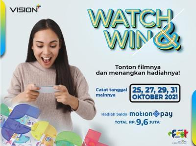 Watch & Win di MNC e-Fest: Tonton Filmnya, Menangkan Hadiahnya, Unduh Vision+ di Sini!