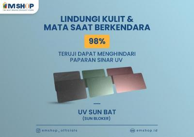 Cegah Kanker Kulit, Pakai Kaca Film UV Sun Bat dari eMSHOP