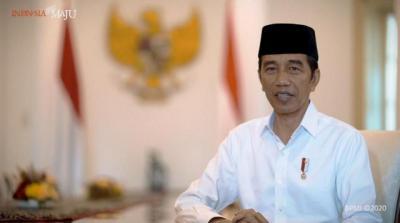 Hari Santri 2021, Jokowi Harap Indonesia Jadi Pusat Ekonomi Syariah Dunia