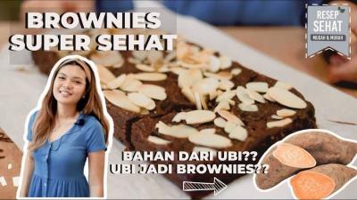 Cara Membuat Brownies Coklat Gluten Free Hanya Butuh 3 Bahan!