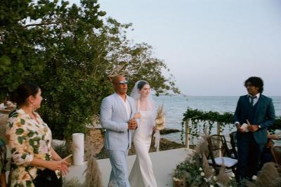 Vin Diesel Antar Putri Mendiang Paul Walker ke Altar Pernikahan
