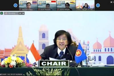 Indonesia Jadi Tuan Rumah Pertemuan Menteri Bidang Lingkungan Hidup Se-ASEAN