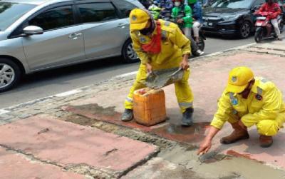 Cegah Genangan Saat Hujan, 4.396 Titik Tali Air di Jakarta Pusat Telah Dibersihkan dan Diperbaiki