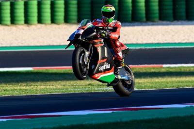 MotoGP Emilia Romagna 2021, Lorenzo Savadori Tak Bisa Balapan Usai Kecelakaan