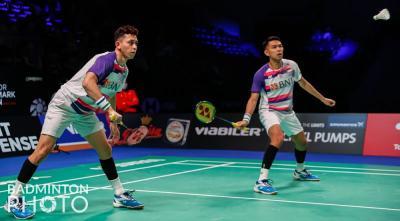 Ganda Putra Indonesia Habis di Perempatfinal Denmark Open 2021, Ini Kata Herry IP