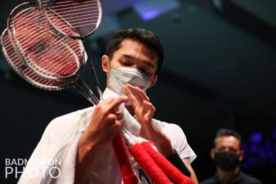 Hasil Perempatfinal Denmark Open 2021: Jonatan Christie Cedera, Kento Momota Lolos ke Semifinal