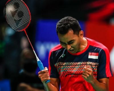 Didampingi Hendra Setiawan, Tommy Sugiarto Siap Tampil Maksimal saat Hadapi Kento Momota di Semifinal Denmark Open 2021