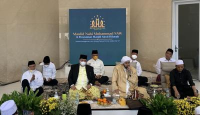 Peringati Maulid Nabi, Airlangga Optimis Menang Lawan Pandemi Covid-19