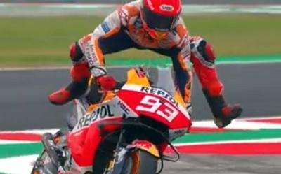 Lakukan Penyelamatan Fantastis dari Kecelakaan di MotoGP Emilia Romagna, Marc Marquez: Saya Hanya Beruntung