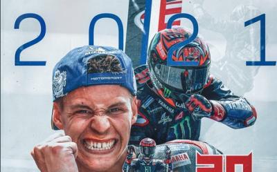 Perjalanan Karier Fabio Quartararo, Juara MotoGP 2021