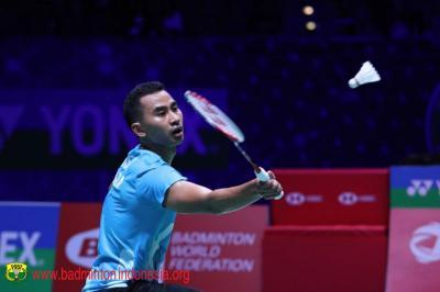 Hasil Denmark Open 2021: Tommy Sugiarto Takluk dari Kento Momota, Tak Ada Wakil Indonesia di Final