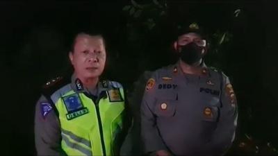 Longsor Sibolangit, Polisi Tutup Akses Jalan Medan-Berastagi