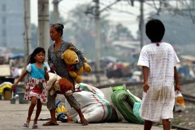 Tingkat Kemiskinan Menurun, di Perkotaan Masih Tinggi