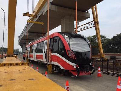 Sebelum Tabrakan, Kereta LRT Jabodebek Lakukan Uji Beban di Bentang Terpanjang Dunia