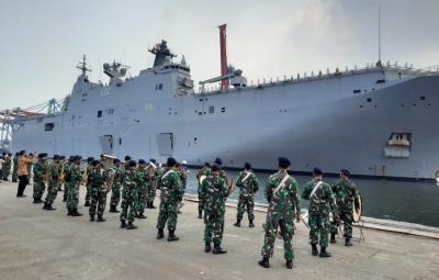 Spesifikasi HMAS Canberra, Kapal Perang Terbesar Australia yang Berlabuh di Tanjung Priok