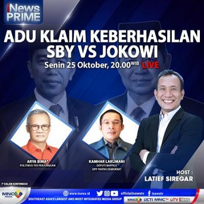Adu Klaim Keberhasilan, SBY VS Jokowi. Selengkapnya di iNews Prime