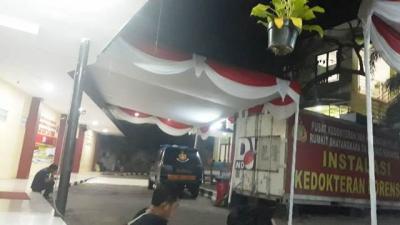 Kecelakaan Maut Transjakarta, 3 Korban Tewas Dibawa ke RS Polri Kramat Jati