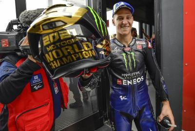Fabio Quartararo Juara MotoGP 2021, Valentino Rossi: Yamaha Tepat Pilih El Diablo!