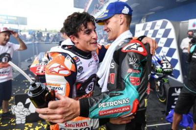Fabio Quartararo Juara Dunia MotoGP 2021, Marc Marquez: Dia Pembalap Tercepat dan Paling Konsisten