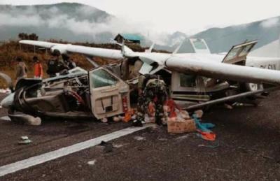 Pesawat Kargo Kecelakaan di Ilaga Papua, Pilot Meninggal Dunia