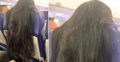 Punya Rambut Panjang, Wanita Ini Malah Bikin Jengkel Penumpang Pesawat