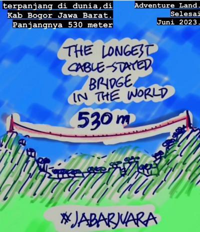 Mantap! Indonesia Bakal Miliki Jembatan Gantung Terpanjang di Dunia