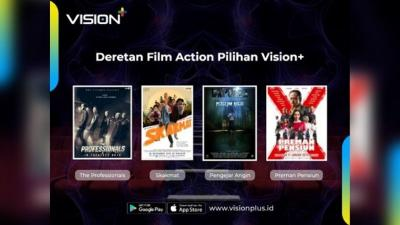 Tonton The Professionals hingga Preman Pensiun di Vision+