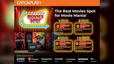 Kolaborasi PLAYBOX x CATCHPLAY+ Hadirkan 4 Promo Paket Berlangganan