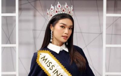 Miss Indonesia 2020 Carla Yules Tak Sabar Jalani Babak Fast Track Miss World 2021
