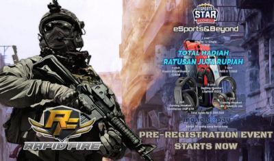 Pre-Registration Game Rapid Fire Telah Dimulai
