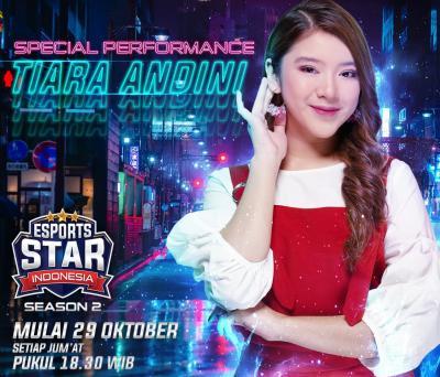 Special Performance Tiara Andini Meriahkan Premiere Esports Star Indonesia GTV