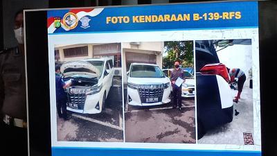 Warna Mobil Tak Sesuai STNK, Rachel Vennya Kena Tilang Rp500 ribu