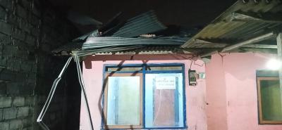 Angin Kencang Rusak 44 Rumah di Mojokerto