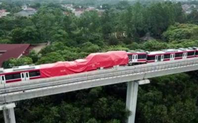 KNKT Diterjunkan Selidiki Tabrakan LRT di Munjul