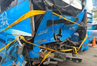 Kecelakaan Bus Transjakarta Tak Berkaitan Dengan Kosongnya Petugas On Board
