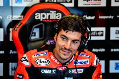 Tembus 10 Besar Bersama Aprilia di MotoGP Emilia Romagna 2021, Maverick Vinales Senyum Sumringah