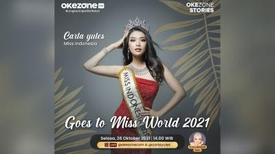 Siang Ini Live Instagram Bareng Miss Indonesia 2020, Carla Yules Goes To Miss World 2021!