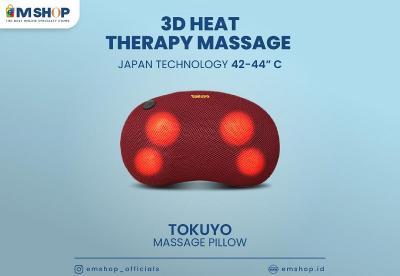 Bebas Nyeri Sendi, Lakukan Peregangan dan Pakai Takuyo Massage Pillow dari Emshop