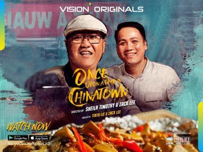 """Episode 3 Vision+ Originals """"Once Upon a Time in Chinatown"""", Kisah Kehangatan Keluarga di Restoran Siauw A Tjiap"""