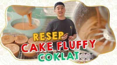 Intip Cara Mudah Membuat Fluffy Cake Susu Coklat ala Chef Arnold Poernomo!