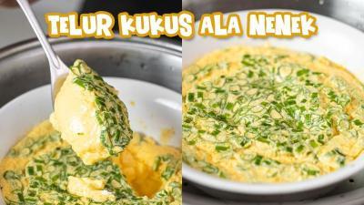 Cek Resep Telur Kukus Menu Comfort Food Paling Gampang & Lezat!