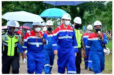 Pantau Bisnis Pertamina di Sorong, Ini Pesan Ahok