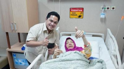Kembali Drop, Dorce Gamalama Dapat Bantuan Pengobatan dari Erick Thohir