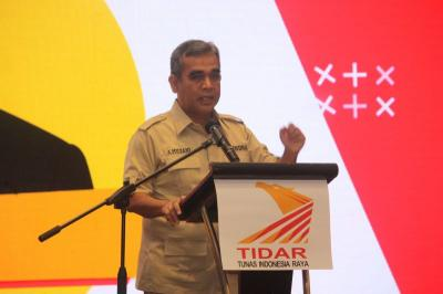 Sekjen Gerindra: Keberlangsungan Pembangunan Jokowi Harus Berlanjut