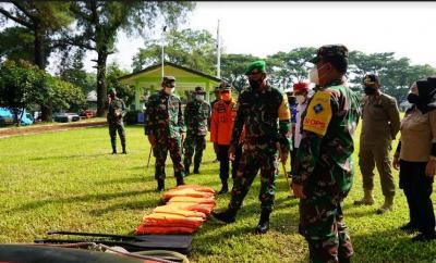 Waspada Cuaca Ekstrem, Ratusan Personel di Kota Bogor Disiagakan Tanggulangi Bencana