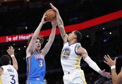 Hasil NBA 2021-2022 Hari Ini: Golden State Warriors Tekuk Oklahoma City Thunder, LA Lakers Menang Dramatis