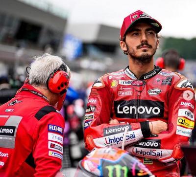 Ogah Terlalu Lama Terpuruk, Francesco Bagnaia Siap Tampil Lebih Ganas di MotoGP 2022
